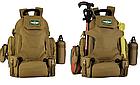 """Рюкзак тактический """"2-в-1"""": рюкзак + поясная сумка Protector Plus S427 (40л), фото 7"""