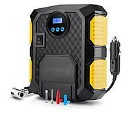 Компрессор автомобильный с фонарем. Профессиональный Электрический 12 вольт шинный компрессор для автомобилей