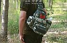 Сумка(подсумок) тактическая,поясно-плечевая Protector Plus A005, фото 2