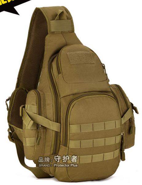 Рюкзак / сумка-слинг тактическая (наплечная) с одной лямкой Protector Plus X212