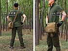 Сумка тактическая,плечевая Protector Plus K307, фото 4