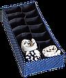 Набор органайзеров коробочек для белья 4 шт. Звездное небо, фото 5