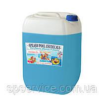 Альгицид против водорослей в воде бассейна без запаха Сплеш 20 л