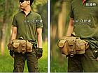 Поясная (наплечная) тактическая сумка Protector Plus Y114, фото 7