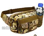 Сумка поясная (наплечная), тактическая Protector Plus Y116 с отделением для фляги, фото 7