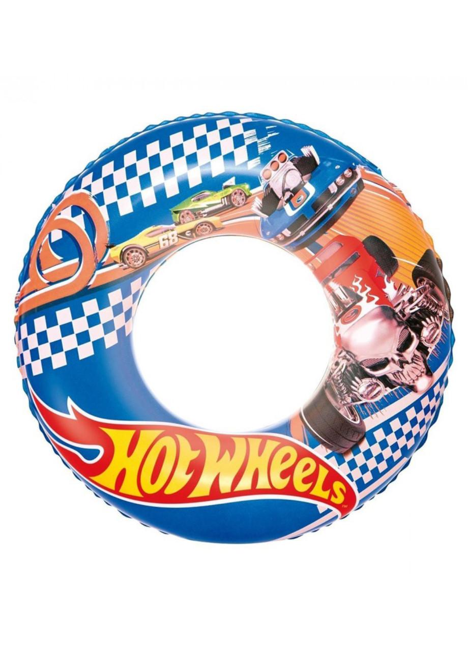 """Надувной круг """"Hot Wheels"""" Bestway 56см"""