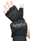 Армейские тактические перчатки для спецподразделений Half-Finger, фото 2
