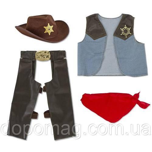 MelissaDoug MD4273 Cowboy Role Play Costume Set Костюм Ковбой - Интернет-магазин Dopomag.com.ua в Киеве