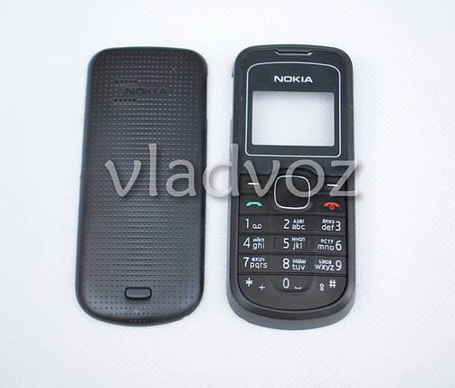Корпус Nokia 1202 чёрный с клавиатурой не дорогой, фото 2
