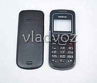Корпус Nokia 1202 чёрный с клавиатурой не дорогой