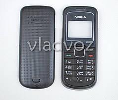 Корпус Nokia 1202 чёрный с английской клавиатурой не дорогой