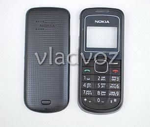 Корпус Nokia 1202 чёрный с английской клавиатурой не дорогой, фото 2