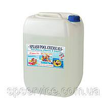 Жидкое средство для понижения уровня pH минус воды в бассейне Сплеш 20 л