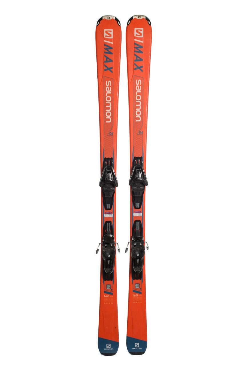 Лижі гірські Salomon S Max 160 Orange Б/У