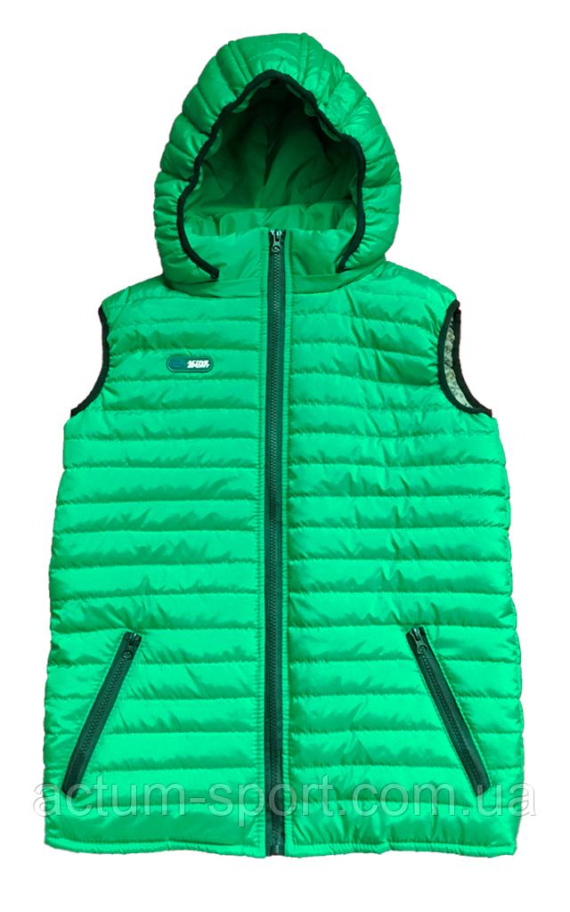 Жилет зеленый с капюшоном Activsport