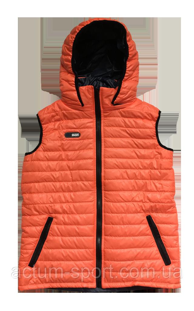 Жилет оранжевый с капюшоном Activsport Оранжевый, 42
