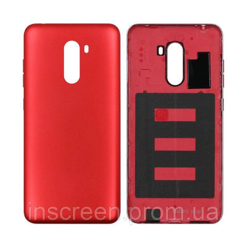 Задняя крышка Xiaomi Pocophone F1 красная, Rosso Red, Оригинал Китай