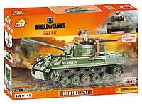 Конструктор Cobi World Of Tanks САУ М18 Хеллкет, 465 деталей (COBI-3006) (Made in EU)