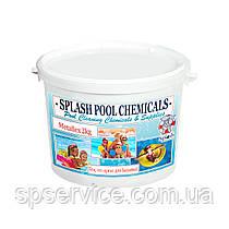 Бесфосфатное средство для удаления металлов из воды бассейна Сплеш 2 кг