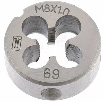 Плашка М8 х 1,0 мм СИБРТЕХ (77019)