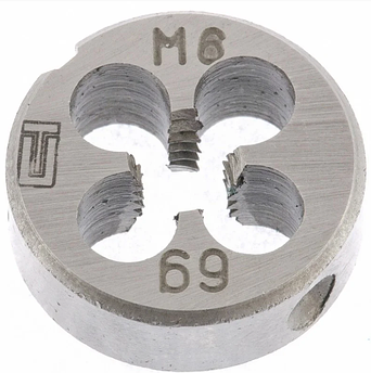 Плашка М6 х 1,0 мм СИБРТЕХ (77017)