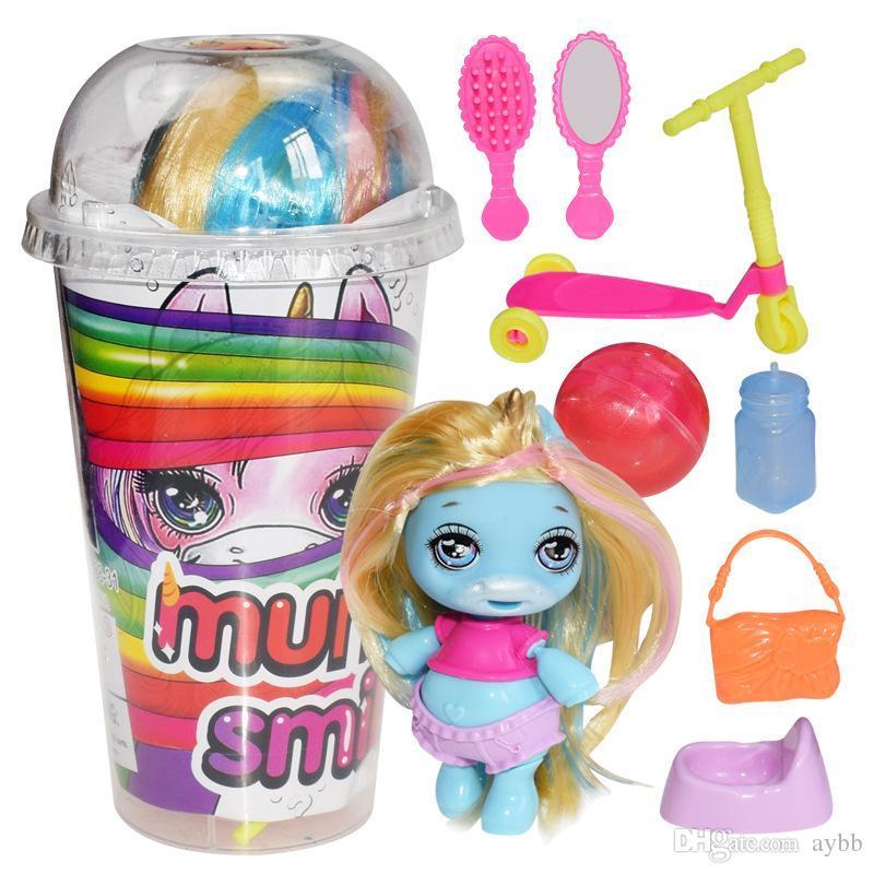 Стакан Poopsie AeUnicorn кукла единорог, слайм  с сюрпризом