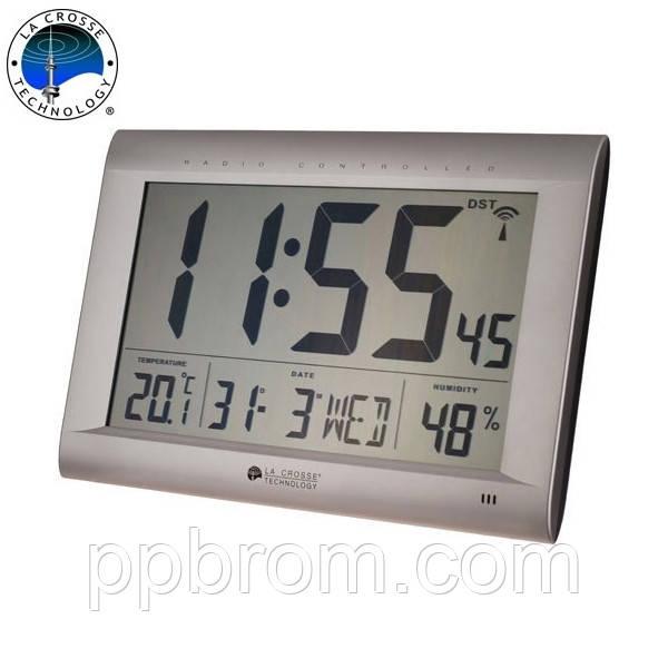 Метеостанция настольная/настенная - часы и календарь La Crosse WS8009-SIL (Франция)