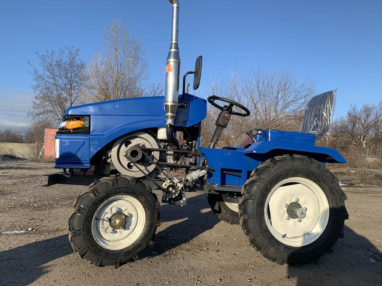 Мото трактор Форте GT-161 Люкс - Новинка 2020 года