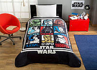Покрывало-плед TAC Disney Star Wars Force 160×220 см