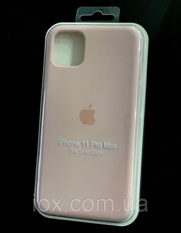 Силіконовий чохол Silicone Case Soft Touch для iPhone 11 Pro Max