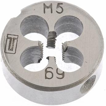 Плашка М5 х 0,5 мм СИБРТЕХ (77010)