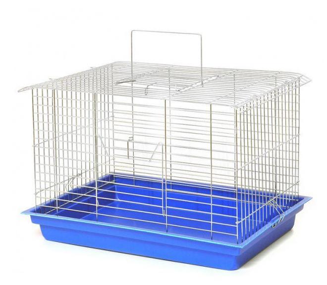 Клітка Кролик-Максі цинк для середніх та великих гризунів, 56,5*40*36 см