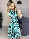 Платье Цветы. Качество Люкс, фото 2
