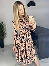 Платье Цветы. Качество Люкс, фото 5