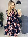 Платье Цветы. Качество Люкс, фото 6