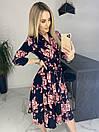 Платье Цветы. Качество Люкс, фото 8