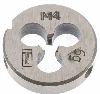 Плашка М4 х 0,7 мм СИБРТЕХ (77009)