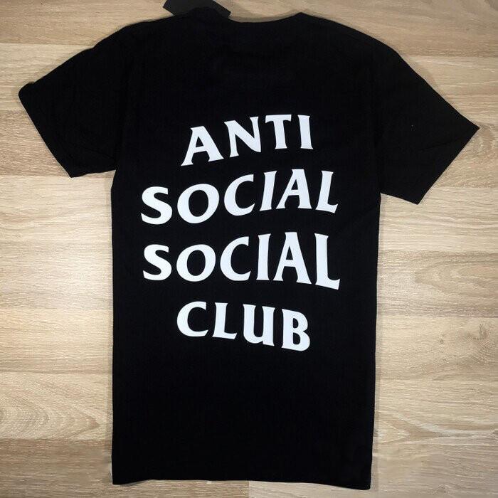 Футболка чорна LOYS Anti Social Social Club ASSC classic S