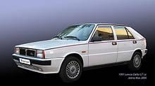 Lancia DELTA,Лансиа Дельта 1987-1993