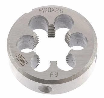 Плашка М20 х 2,0 мм СИБРТЕХ (77056)