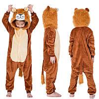 Пижама кигуруми Детские лев