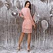 Женское платье Фрезовый, фото 6