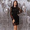 Женское платье Черный, фото 5
