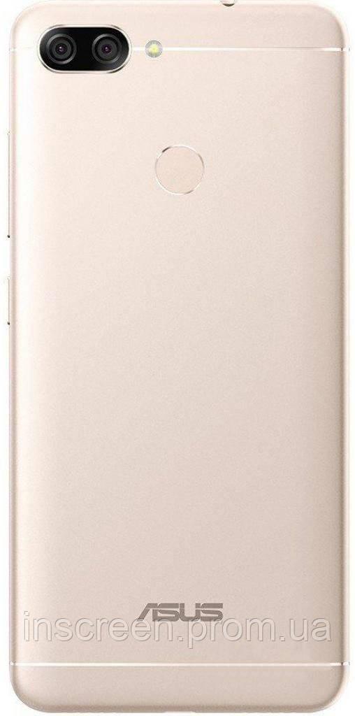 Задня кришка Asus ZenFone Max Plus M1 (ZB570TL) золотиста Оригінал Китай