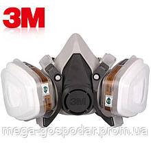 Респиратор 3M 6200,полумаска 3M™ 6000 полный комплект