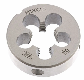 Плашка М18 х 2,0 мм СИБРТЕХ (77050)