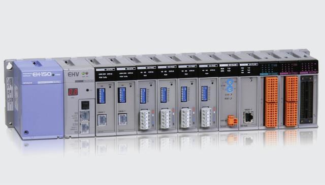 Программируемые логические контроллеры Hitachi серии EH-150, Япония