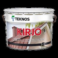 Фарба матова для дахів із листового заліза Teknos Kirjo aqua, 9 л