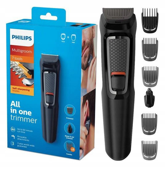 Триммер для бороды PHILIPS 7in1 MG3720