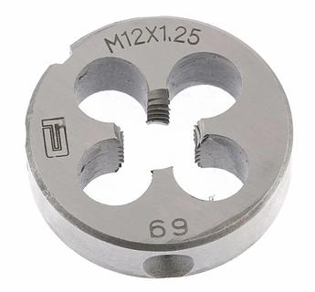 Плашка М12 х 1,25 мм СИБРТЕХ (77030)